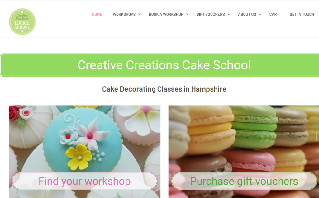 Creative Creations Cake School